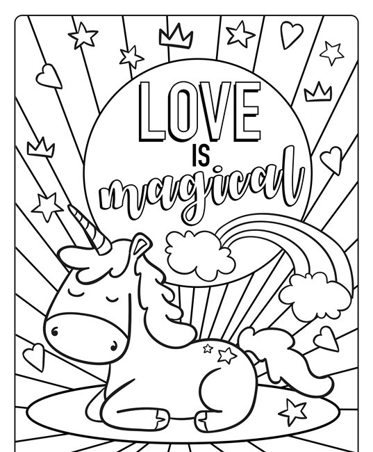 - Valentines Day Coloring Pages 2021 - Free Printable Heart Coloring Pages