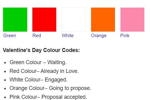 valentine's day dress code 2020