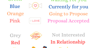 Valentine's Day Coluor Code