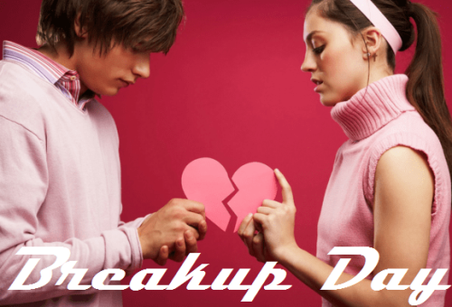Happy Breakup day images for girlfriend