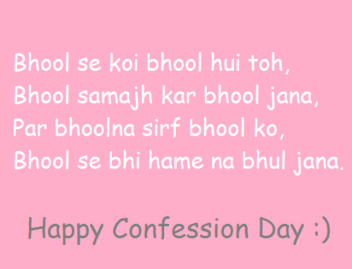 Happy Confession Day Images