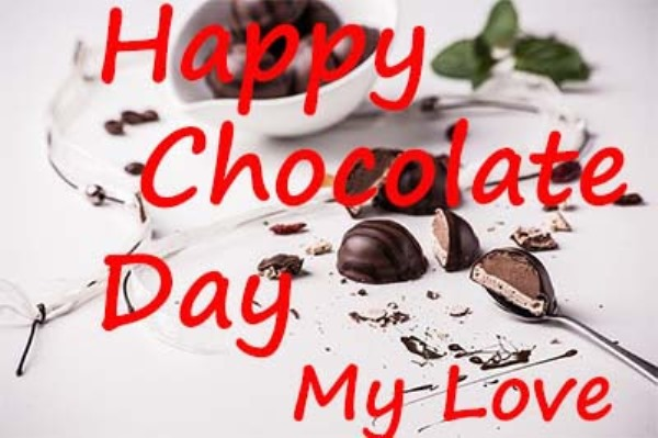chocolate day images for love shayari