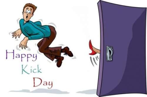 Happy kick day images