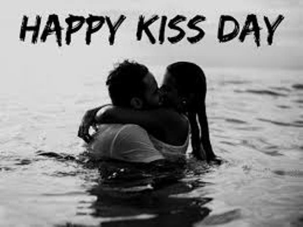 Happy kiss day 2020