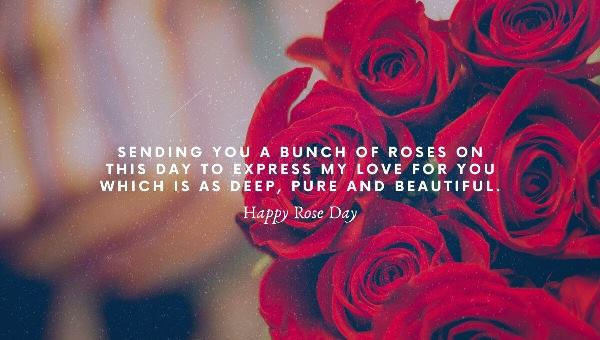 Happy rose day 2020