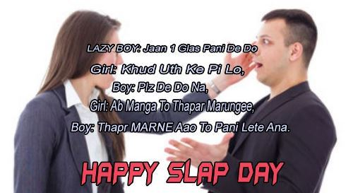 Happy slap day 2020 quotes
