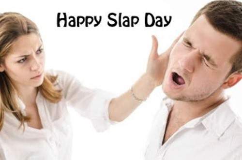 Slap Day Images for Whatsapp
