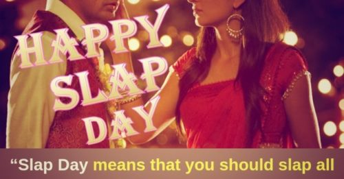 Happy slap day 2020