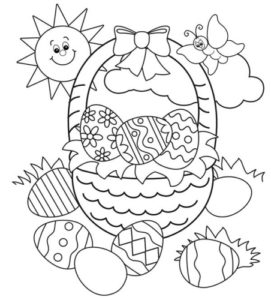 Happy Easter Day Coloring Pages 2020 (1) - Happy Event Day