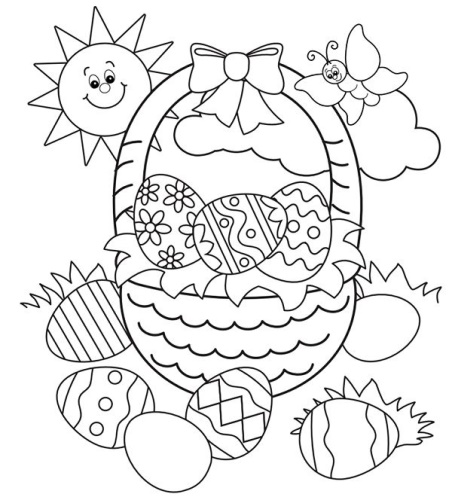 Top 25 Easter Coloring Pages 2021 For Preschoolers Toddlers Adults