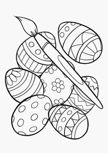 easter coloring pages to print for free 2020