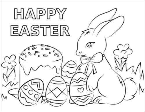 Top 25 Easter Coloring Pages 2021 for preschoolers ...