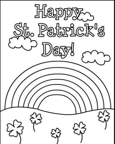 St Patrick's Day Coloring Pages 2020