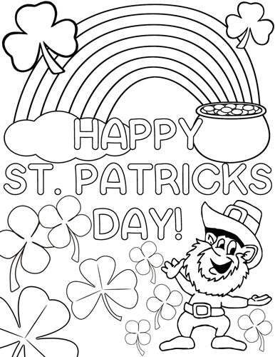 St Patrick S Day Coloring Pages 2021 Religious Colouring Pages For Kids