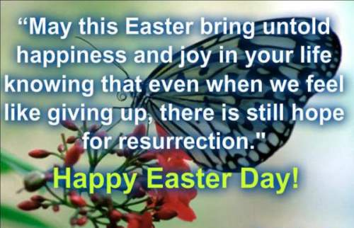 happy easter sunday quotes and images
