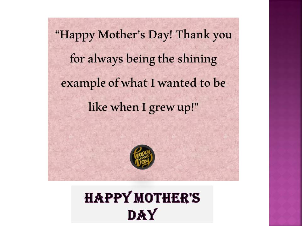 Mothers day messages with images
