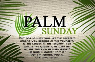 Palm Sunday 2020 Quotes