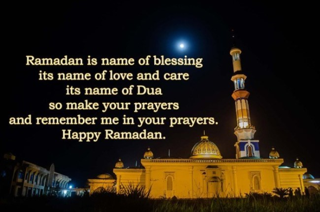 Happy Ramadan Mubarak Wishes