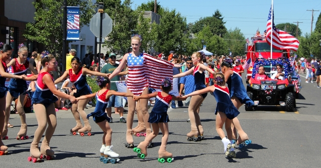 Happy 4th July Parades