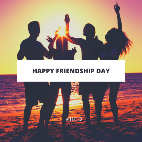 happy friendship day card