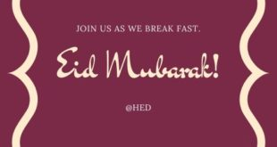 Happy Eid Mubarak in Advance