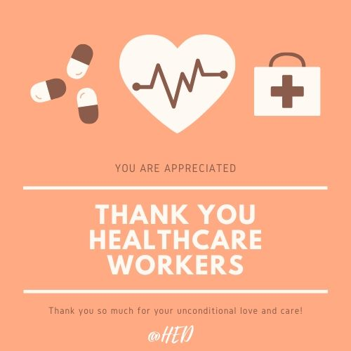 Thank You Healthcare Workers Quotes