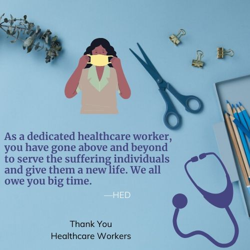 Thank You Healthcare Workers QuotesThank You Healthcare Workers Quotes