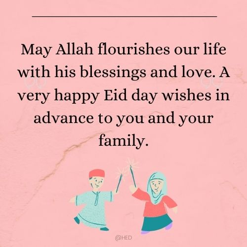 advance eid wishes messages