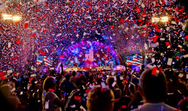 Boston Pops 4th July Fireworks