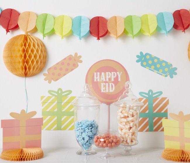 Eid Mubarak Decoration Ideas