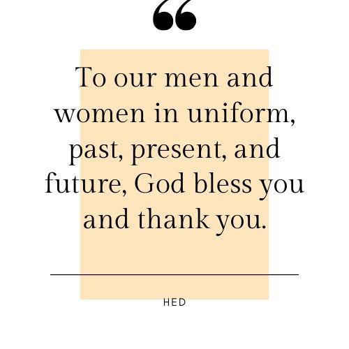 Happy Veterans Day Wishes