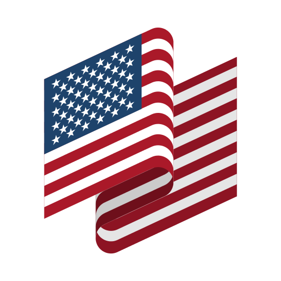 American Flag Craft Template