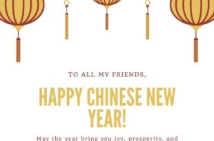 Happy Chinese New Year Wishes, Quotes & Images