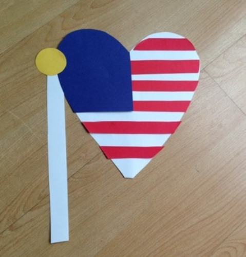 Flag Day Crafts for Toddlers 2020