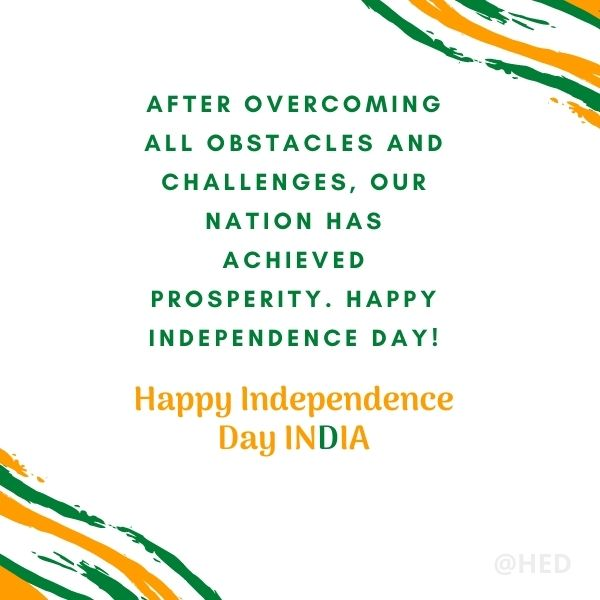 Happy Independence Day India Quotes
