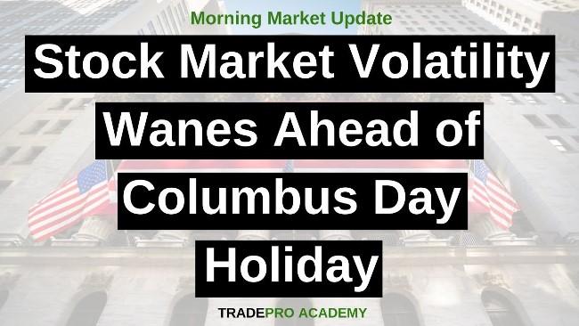 Columbus Day 2020 Stock Market