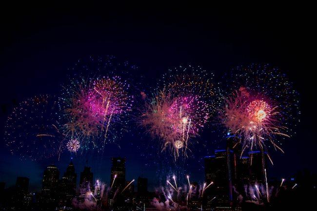 Labor Day Fireworks Near Me