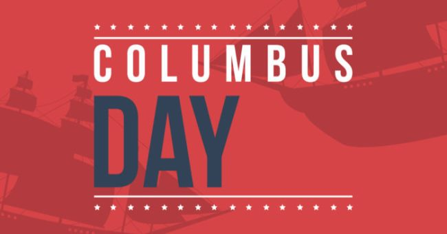 is columbus day a federal holiday