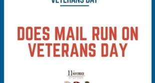 Does Mail Run On Veterans Day 2020