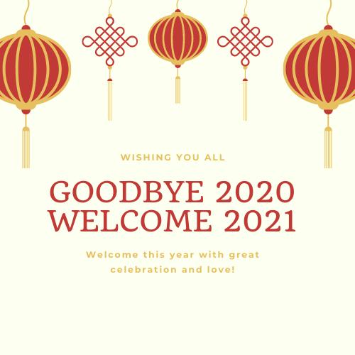 Goodbye 2020 Welcome 2021 Images