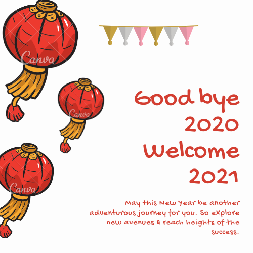 Goodbye 2020 Welcome 2021 Quotes