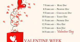 Happy Valentines Week Days