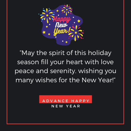 Advane New Year Messages