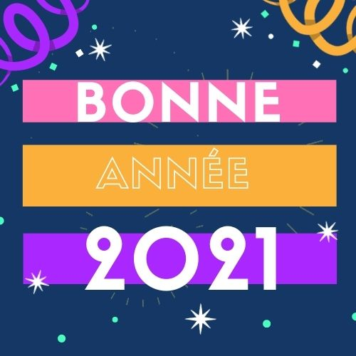 Bonne Année 2021 Fonds D'écran