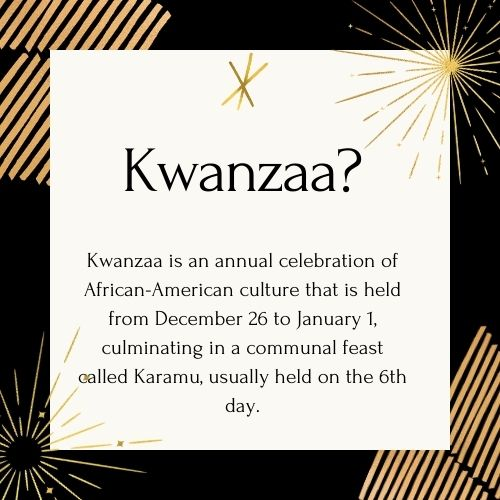 What is Kwanzaa?
