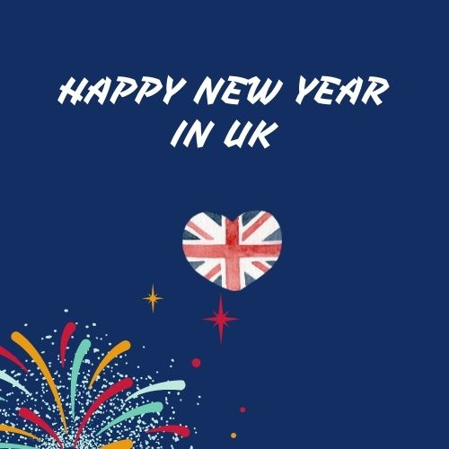 Happy New Year 2021 in uk