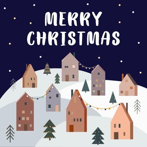 Christmas Zoom Background Animated