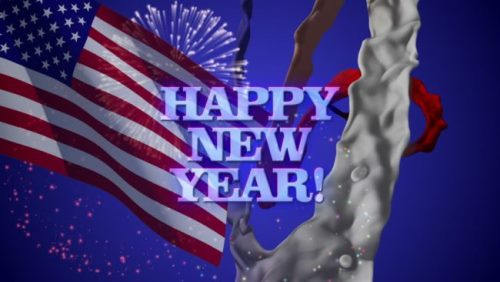 Happy New Year 2021 in USA