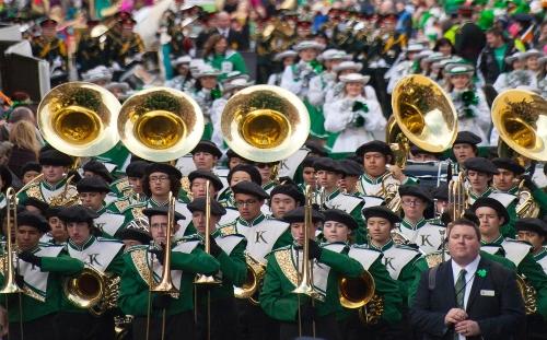 St Patrick day parade